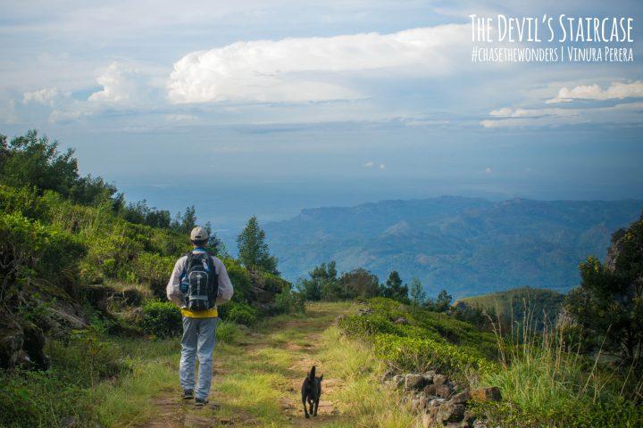 adventure hiking on devil's staricase